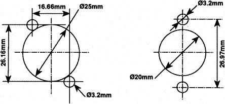 Svp561 4p Ch Rs Pro Rs Pro 4 Way Panel Mount Xlr