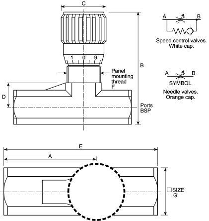 2000 Valve Parker Parker Line Mounting Hydraulic Flow Control