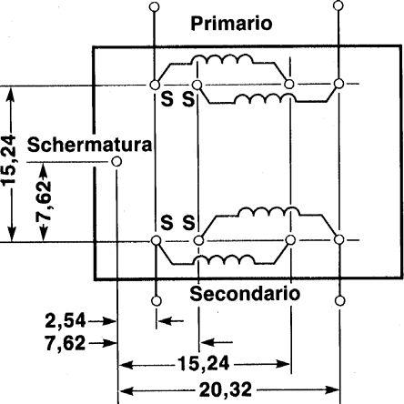 Mu-metal screeningcan for AF transformer