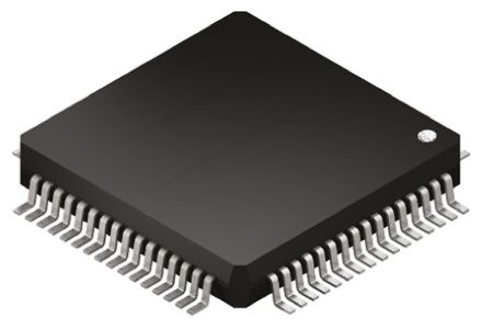 ADAS1000BSTZ, Analogue Front End IC, 5-channel 19 bit, 2Msps DSP, QSPI, SPI, 64-Pin LQFP