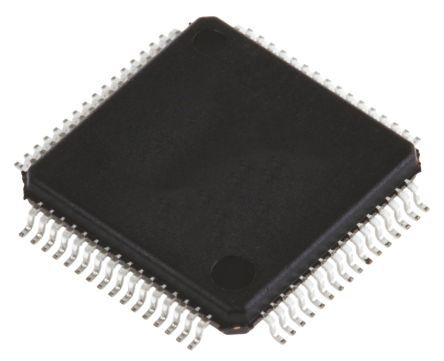 STMicroelectronics STM32F103R8T6, 32bit ARM Cortex M3 Microcontroller, STM32F, 72MHz, 64 kB Flash, 64-Pin LQFP