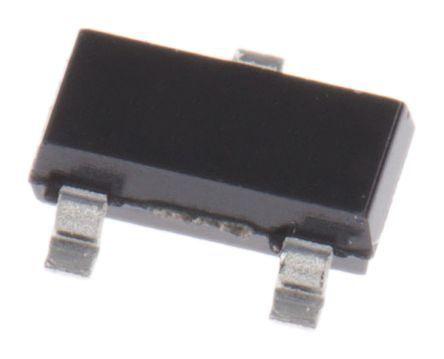 ROHM 30V 200mA, Dual Schottky Diode, 3-Pin SOT-23 BAT54AHMT116