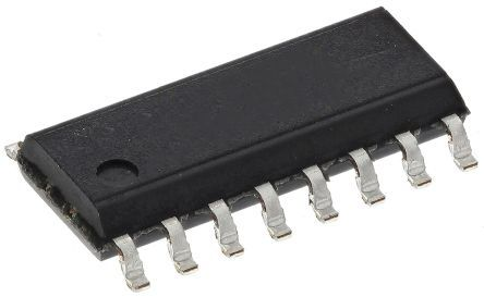 Toshiba Układ przełącznika zasilania, TBD62003A, 0.1mA, 25 V, SMD, kanały: 7, P-SOP, 16-Pin, -40°C, 2000, TBD62003AFWGZ,EHZ