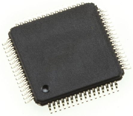 Microchip Technology DSPIC33CH128MP506-I/PT, Microprocessor dsPIC33CH 16bit 180 MHz, 200 MHz 64-Pin TQFP