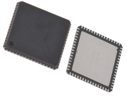 Microchip Technology DSPIC33CH128MP506-I/MR, Microprocessor dsPIC33CH 16bit 180 MHz, 200 MHz 64-Pin QFN