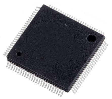 Renesas Electronics R7FS5D57A3A01CFP#AA0, 32bit ARM Cortex M4 MCU, 120MHz,  512 kB Flash, 100-Pin LQFP