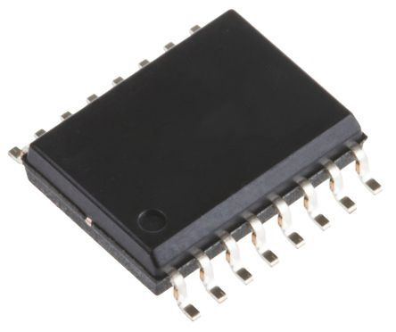 ADuM150N1BRZ Analog Devices, PCB SMT, 5-Channel Digital Isolator 150Mbit/s, 3 kVrms, 16-Pin SOIC