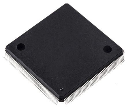 AT91SAM9XE512B-QU, 32bit ARM Microcontroller, 180MHz, 32 kB Flash, 208-Pin PQFP product photo