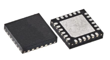 ON Semiconductor NCP51705MNTXG Half Bridge MOSFET Power Driver, 6 (Sink) A, 6 (Source) A 24-Pin, QFN