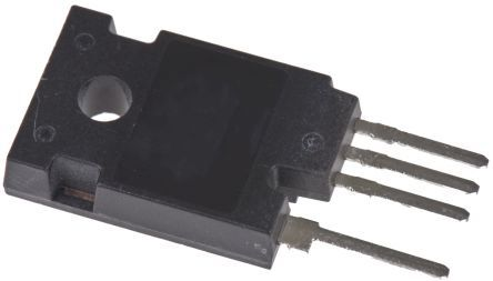 ON Semiconductor FGH75T65SQDNL4 P-Channel IGBT, 200 A 650 V, 4-Pin TO-247
