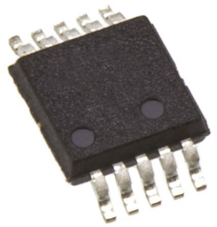 AD5243BRMZ100, Digital Potentiometer 100kΩ 256-Position Linear 2-Channel I2C, Serial-2 Wire 10 Pin, MSOP