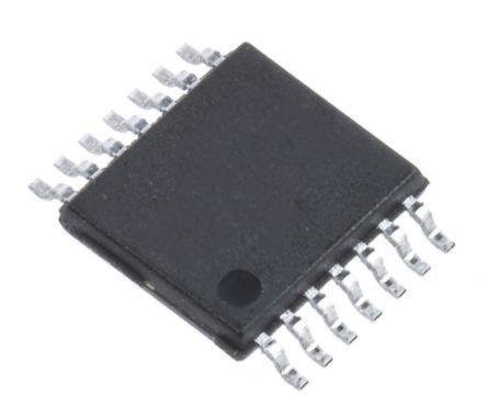 AD5280BRUZ50, Digital Potentiometer 50kΩ 256-Position Linear I2C, Serial-2 Wire 14 Pin, TSSOP