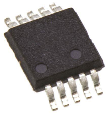AD5290YRMZ10-R7, Digital Potentiometer 10kΩ 256-Position Linear 10 Pin, MSOP