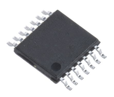 Analog Devices AD7322BRUZ, 12 bit Serial ADC Differential, Pseudo Differential, Single Ended Input, 14-Pin TSSOP