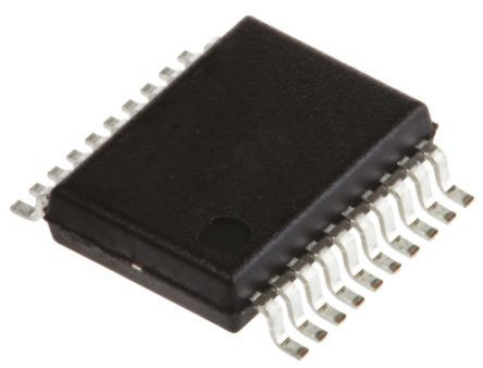 Analog Devices AD9283BRSZ-100, 8 bit Parallel ADC Differential, Single Ended Input, 20-Pin SSOP