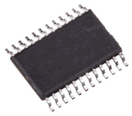 Analog Devices ADM208EARUZ, Line Transceiver 1-TX 1-RX 1-TRX, 5 V, 24-Pin TSSOP