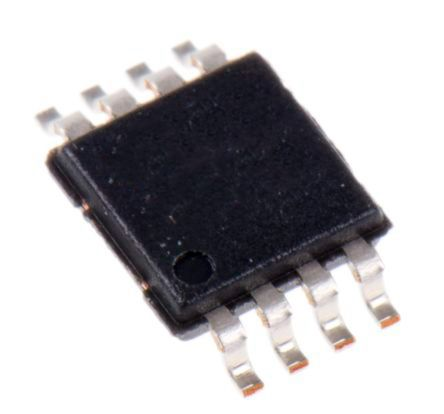 AD8227BRMZ Analog Devices, Instrumentation Amplifier, 100μV Offset 250kHz, R-RO, 2.2 → 36 V, 8-Pin MSOP