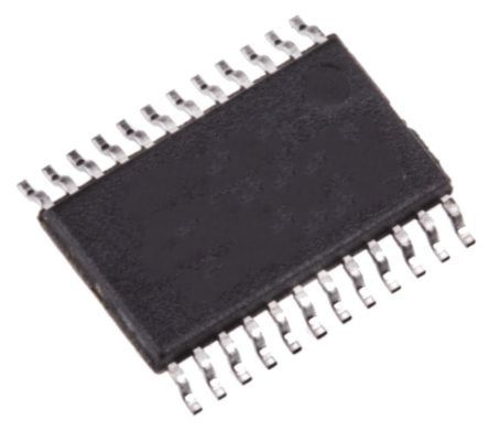 Analog Devices ADM208EARUZ, Line Transceiver 1-TX 1-RX 1-TRX, 5 V, 24-Pin TSSOP