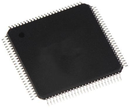 ADAU1445YSVZ-3A Analog Devices ADAU1445, 28 bit, 56 bit Digital Signal Processor 172MHz EEPROM 100-Pin TQFP_EP