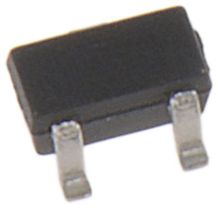 N-Channel MOSFET, 915 mA, 20 V, 3-Pin SC-89 ON Semiconductor NTE4153NT1G