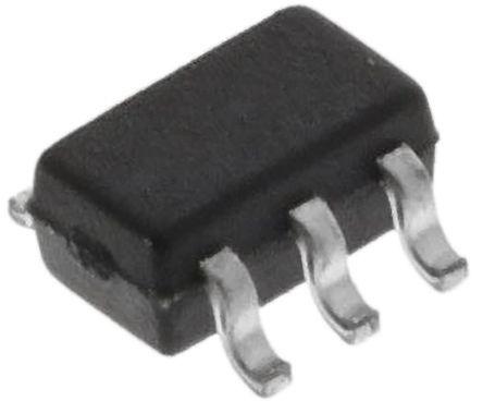 BC856BDW1T1G Dual PNP Transistor, 100 (Continuous) mA, 200 (Peak) mA, -65 V, 6-Pin SOT-363