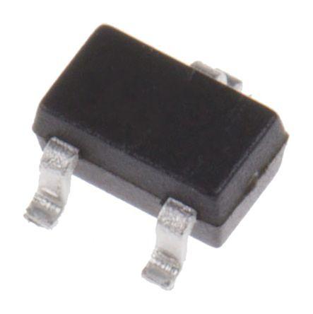 BC857CWT1G PNP Transistor, 100 (Continuous) mA, -45 V, 3-Pin SC-70 (SOT-323)
