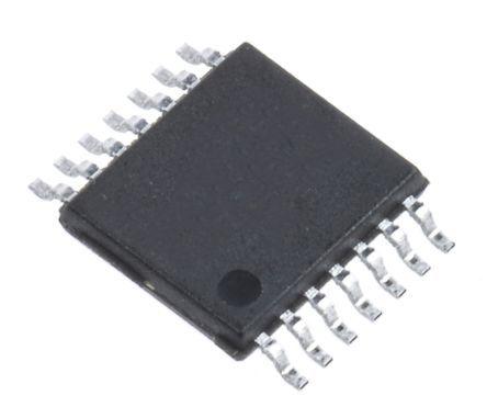 MC74HCT14ADTR2G, 1 Schmitt Trigger Inverter, 14-Pin TSSOP