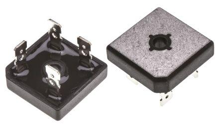 GBPC3506, Bridge Rectifier, 35A 600V, 4-Pin GBPC