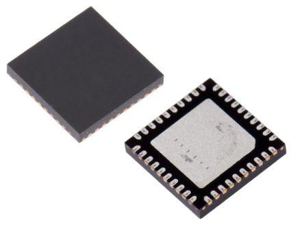 ON Semiconductor AX8052F143-3-TX40, 16bit MCU 8052 Microcontroller, AX8052, 1.05GHz, 64 kB Flash, 40-Pin QFN