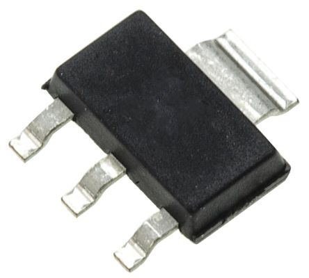 ON Semiconductor NCV1077STBT3G, PWM Current Mode Controller, 800 mA, 100 kHz, 8.2 V, 3 + Tab-Pin SOT-223