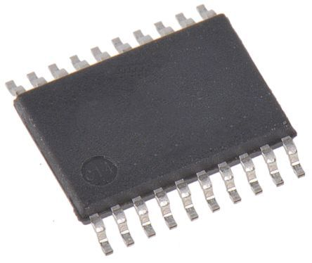 ON Semiconductor 74ACT244MTCX, Dual-Channel, Voltage Level Shifter, Buffer, , 3-State, 20-Pin TSSOP