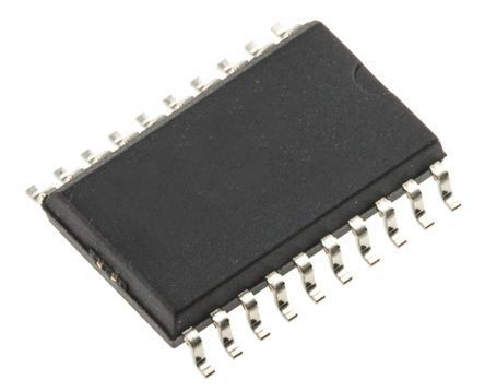 ON Semiconductor MC74HCT541ADWG 9-Channel Buffer & Line Driver, 3-State, 20-Pin SOIC