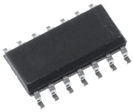 ON Semiconductor 74LCX125M Quad-Channel Buffer & Line Driver, 3-State, 14-Pin SOIC