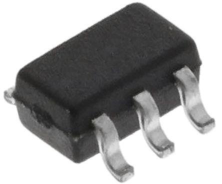 ON Semi BC847BPDW1T3G Dual NPN + PNP Transistor, 100 (Continuous) mA, 200 (Peak) mA, 45 V, 6-Pin SOT-363