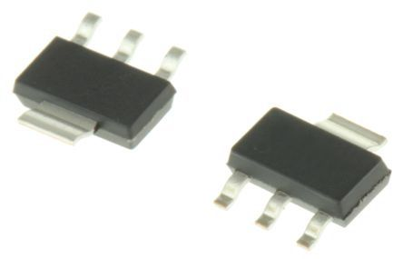 ON Semiconductor, 1.8 V Linear Voltage Regulator, 800mA, 1-Channel, ±1% 4-Pin, SOT-223 NCP1117ST18T3G