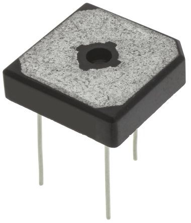 ON Semiconductor GBPC1206W, Bridge Rectifier, 12A 600V, 4-Pin GBPC-W