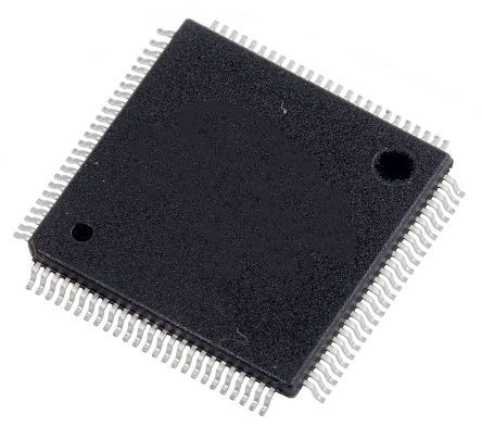 Renesas Electronics R5F524TEADFP#31, 32bit CPU Microcontroller, RX24T, 80MHz, 512 kB Flash, 100-Pin LFQFP