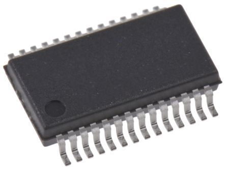 Cypress Semiconductor CY8C9520A-24PVXI, 20-Channel I/O Expander 24MHz, I2C, 28-Pin SSOP