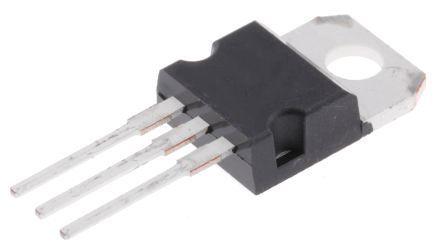 T2550-12I 25A, TRIAC 50mA, 3-pin, Through Hole, TO-220AB STMicroelectronics