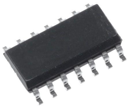 MAX4234ASD+ Maxim Integrated, Operational Amplifier, Op Amps, 10MHz 10 kHz, 2.7 → 5.5 V, 14-Pin SO
