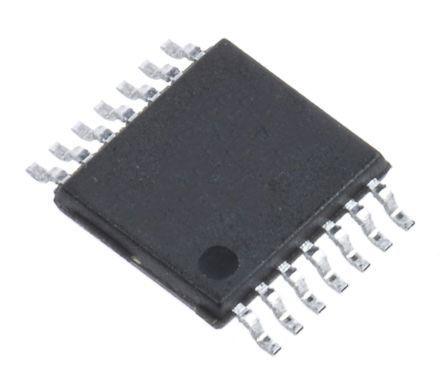 MAX4234AUD+ Maxim Integrated, Operational Amplifier, Op Amps, 10MHz 10 kHz, 2.7 → 5.5 V, 14-Pin TSSOP