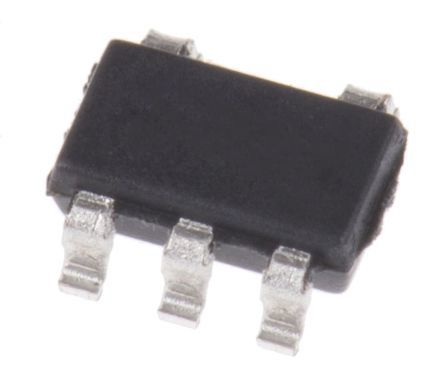 MAX9031AUK+T Maxim Integrated, Comparator, Rail to Rail O/P, 2.5  5.5 V 5-Pin SOT-23
