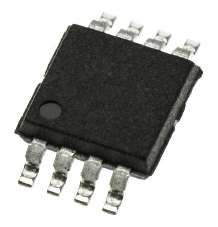 Maxim Integrated DS75U+T&R, Thermostat -55 → +125 °C ±2°C Serial-2 Wire, 8-Pin μMax