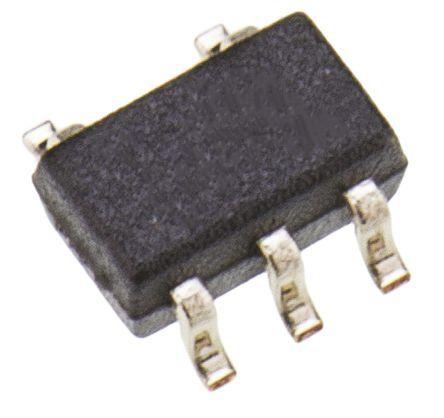 Maxim Integrated MAX6613MXK+T, Analog Temperature Sensor -55 → +130 °C ±4°C, 5-Pin SC-70
