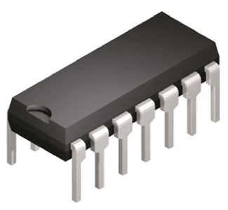 XTR105P Texas Instruments, 4 → 20 mA Current Loop Transmitter 14-Pin PDIP