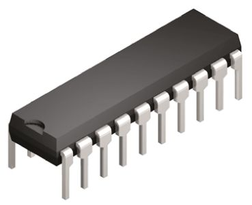 Texas Instruments CD74HC688E, 8bit-Bit, Magnitude Comparator, Single Ended, Inverting, 20-Pin PDIP