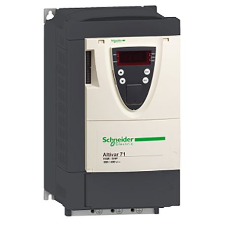 Schneider Electric Inverter Drive, 3-Phase In, 0 1 → 599Hz Out 1 5 kW, 400  V with EMC Filter, 4 1 A ALTIVAR 71