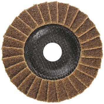 DRONCO Nylon Flap Disc, 115mm x 22mm Bore