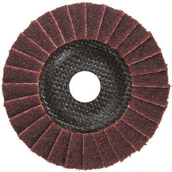 DRONCO Zirconium Dioxide Medium Flap Disc, 80 Grit, 115mm x 22mm Bore