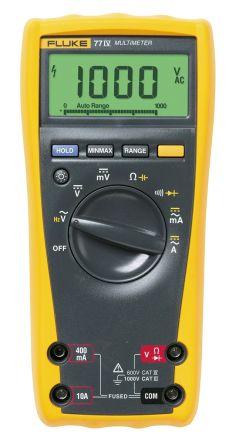 3947835 fluke 77 digital multimeter handheld 10a ac 1000v ac rh au rs online com Fluke 77 ManualDownload Meter Fluke 77 Series II